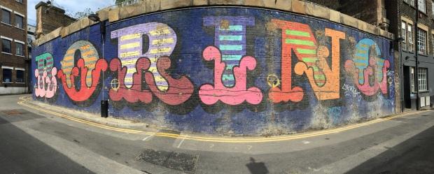 %22Boring%22 Street Art